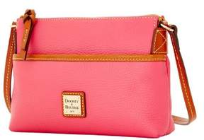 Dooney & Bourke Pebble Grain Ginger Pouchette Shoulder Bag - HOT PINK - STYLE