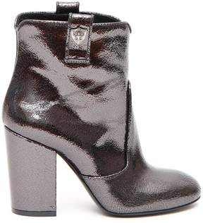 Strategia Chunky Heel Boots