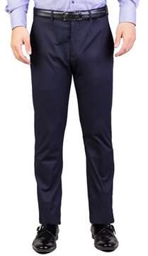 Christian Dior Men's Cotton Slim Fit Chino Pants Navy Blue.