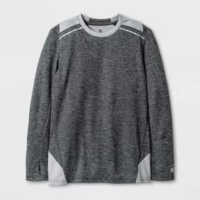 Champion Boys' Novelty Long Sleeve Tech T-Shirt