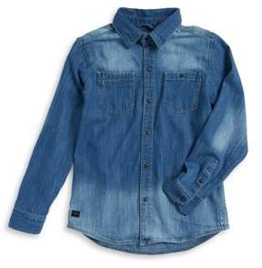 Buffalo David Bitton Boy's Denim Sportshirt