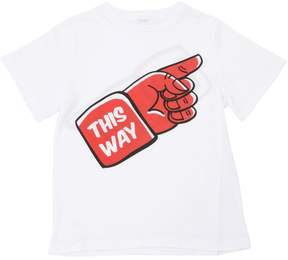 Stella McCartney This Way That Way Cotton Jersey T-Shirt