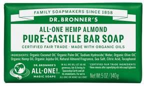 Dr. Bronner's Hemp Almond Pure Castile Bar Soap - 5oz