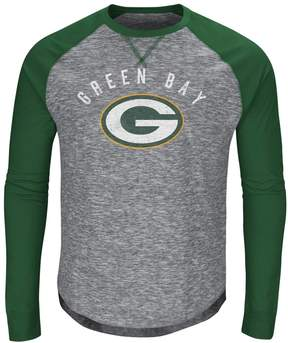 Majestic Big & Tall Green Bay Packers Hyper Raglan Tee