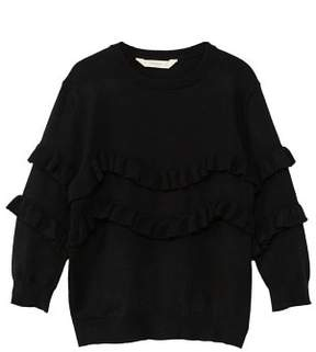 MANGO Ruffled detail sweater