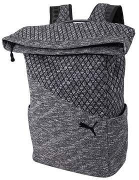 Puma Evo 2.0 Foldover Top Knit Backpack