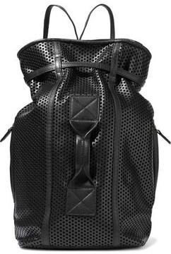 Jerome Dreyfuss Laser-Cut Leather Backpack