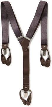 Roundtree & Yorke Herringbone Suspenders