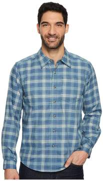 Exofficio Okanagan Macro Check Long Sleeve Shirt Men's Long Sleeve Button Up