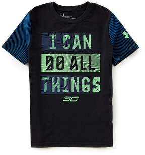 Under Armour Big Boys 8-20 SC30 I Can Do All Things Short-Sleeve Tee