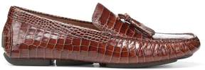 Donald J Pliner VINCENT, Croco Leather Driving Loafer