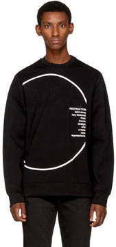 Diesel Black Gold Black Circle Sweatshirt