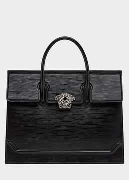 Versace Top Handle Legno Palazzo Briefcase