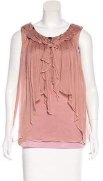 ALICE by Temperley Silk Embellished Top