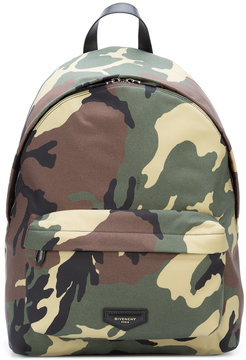 Givenchy camouflage print backpack