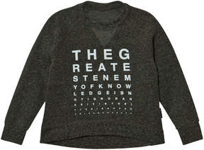 Nununu Charcoal Vision Test Sweatshirt