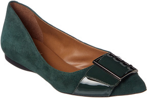 French Sole Sassy Suede Flat