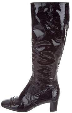 Anya Hindmarch Patent Leather Knee-High Boots