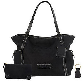Dooney & Bourke As Is Signature Fabric Tote - ONE COLOR - STYLE