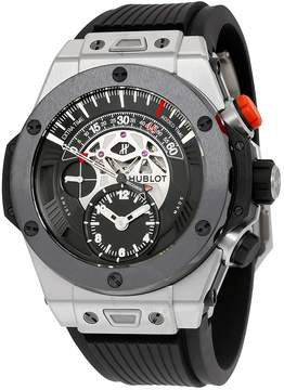 Hublot Big Bang Unico Bi-Retrograde Mat Black Dial Titanium Men's Watch