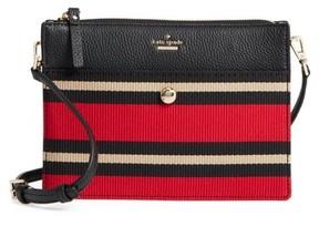 Kate Spade Steward Street Clarise Grosgrain Stripe Shoulder Bag - Red - RED - STYLE