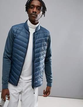 Peak Performance Frost Hybrid Jacket In Blue