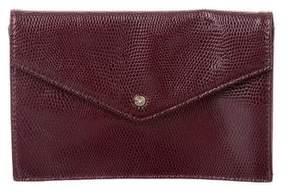 Diane von Furstenberg Leather Envelope Pouch w/ Tags