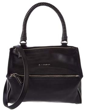 Givenchy Pandora Small Studded Leather Messenger.