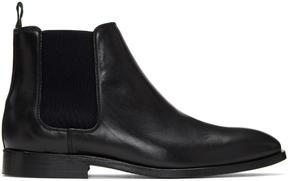 Paul Smith Black Falconer Chelsea Boots