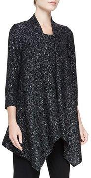 Caroline Rose Starry Night Knit Cascade Jacket
