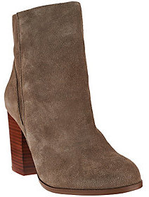 Sole Society As Is Leather Ankle Boots w/ Snap Detail - Henley