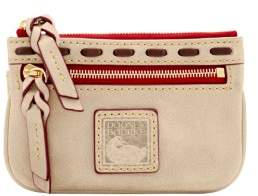 Dooney & Bourke Florentine Small Coin Purse - LIGHT TAUPE - STYLE