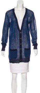 Steven Alan Linen-Blend Striped Sweater w/ Tags