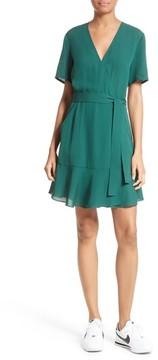 A.L.C. Women's Micah Silk Wrap Dress