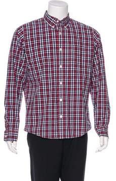 Jack Spade Gingham Woven Shirt