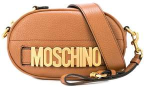 Moschino lettering belt bag