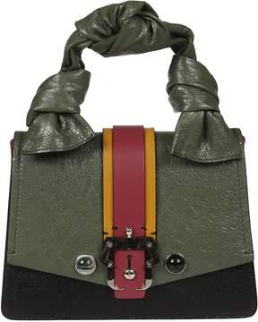 Paula Cademartori Petite Arianna Chic Crease Shoulder Bag