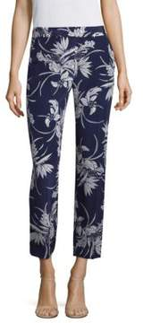 Escada Tallula Hawaiia Floral-Print Pants