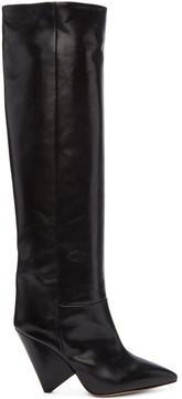 Isabel Marant Black Lokyo Knee-High Boots