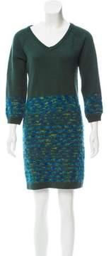 Matthew Williamson Wool-Blend Sweater Dress