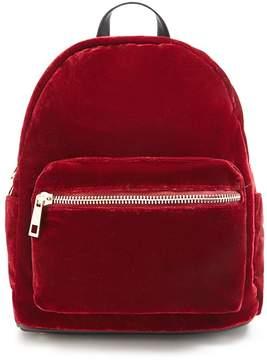 Forever 21 Velvet Mini Backpack