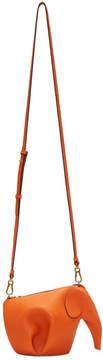 Loewe Orange Mini Elephant Bag
