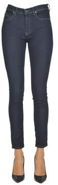 Diesel Black Gold Women's Blue Cotton Jeans.