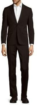 Kenneth Cole Solid Wool-Blend Suit