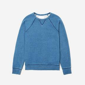 Everlane The Indigo French Terry Crew