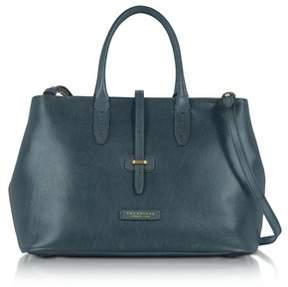 The Bridge Women's Blue Leather Handbag.