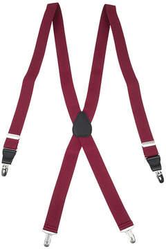 Asstd National Brand Status Drop Clip Belt Suspenders - Big & Tall
