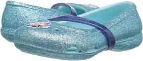Crocs Lina Frozen Flat (Toddler/Little Kid)