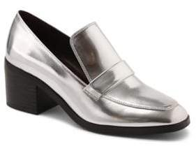 Kensie Holland Metallic Loafers