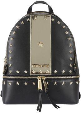 MICHAEL Michael Kors Medium Rhea Star Stud Backpack - NERO/ORO - STYLE